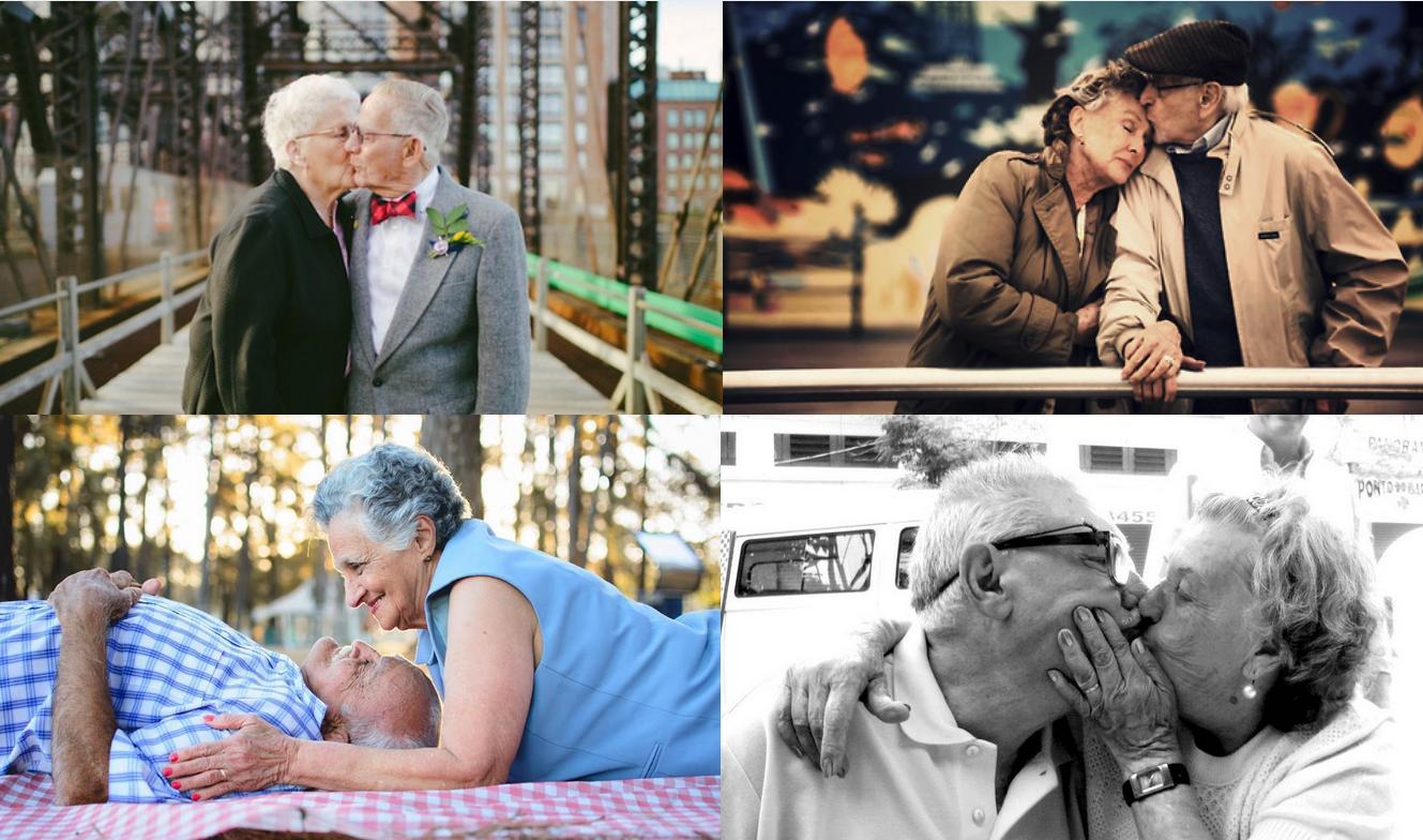 Série de fotos comprovam: O amor não tem idade pra acontecer!