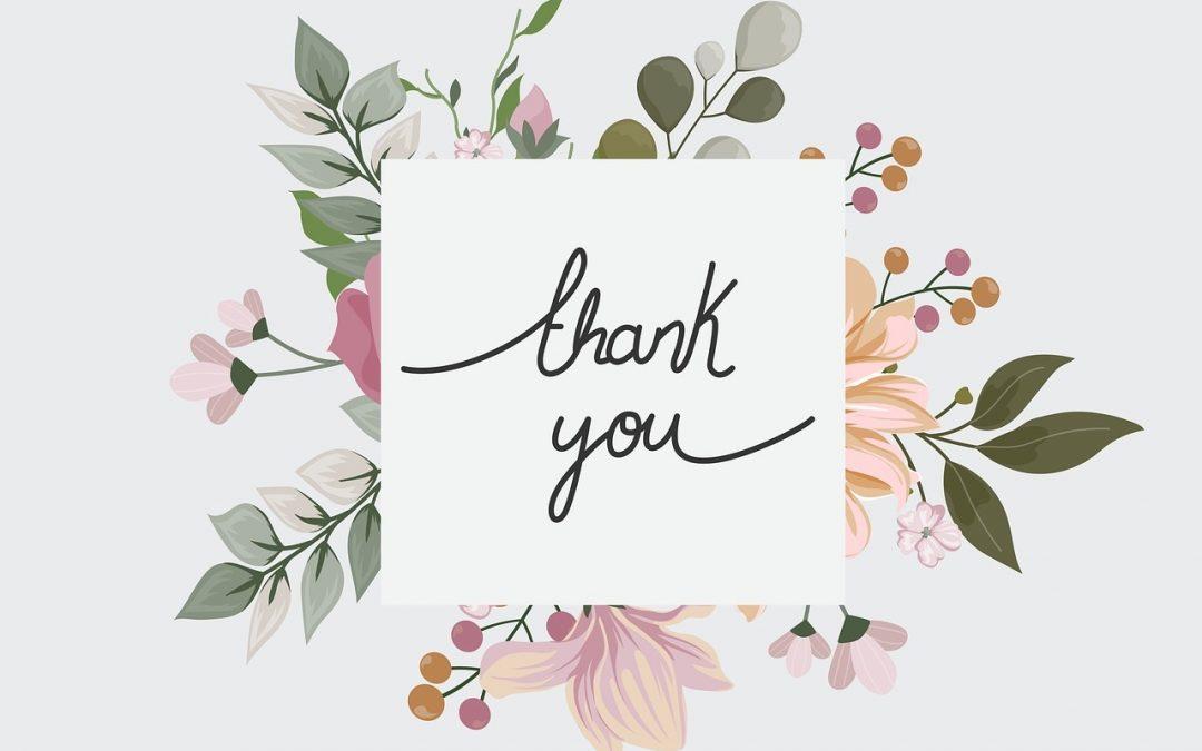 A gratidão traz a cura, a prosperidade e abundância!